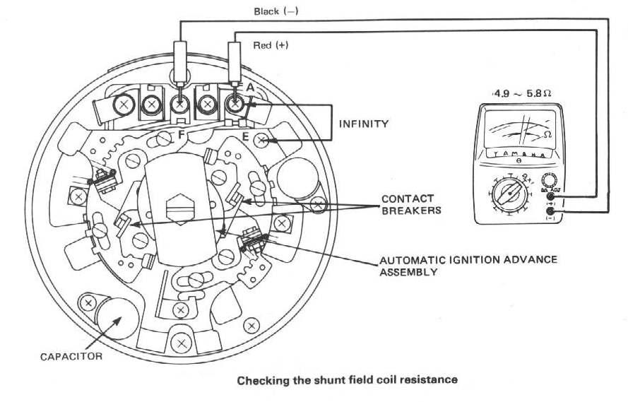 motorcycle rectifier wiring diagram shunt