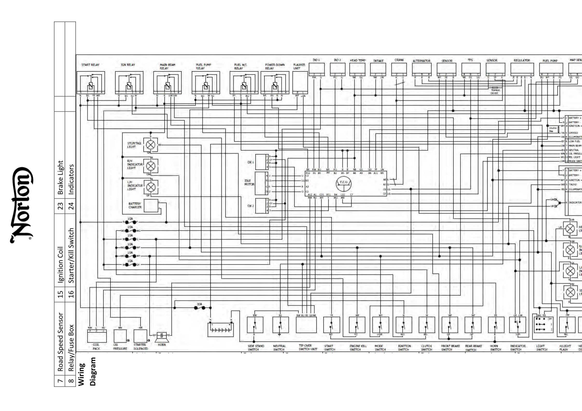 Norton Atlas Wiring Diagram Auto Electrical Van Dorn U2022