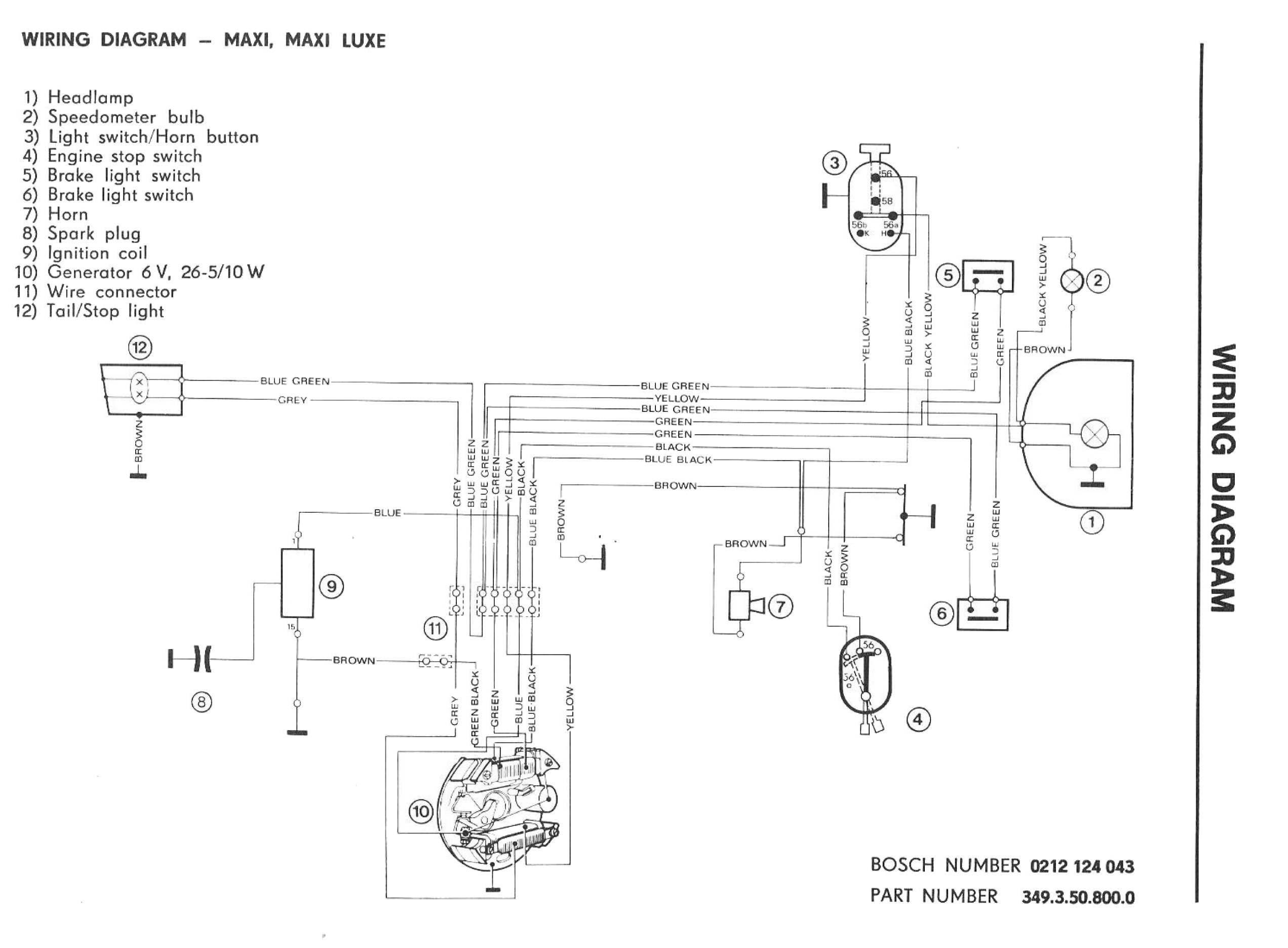 puch maxi s wiring diagram