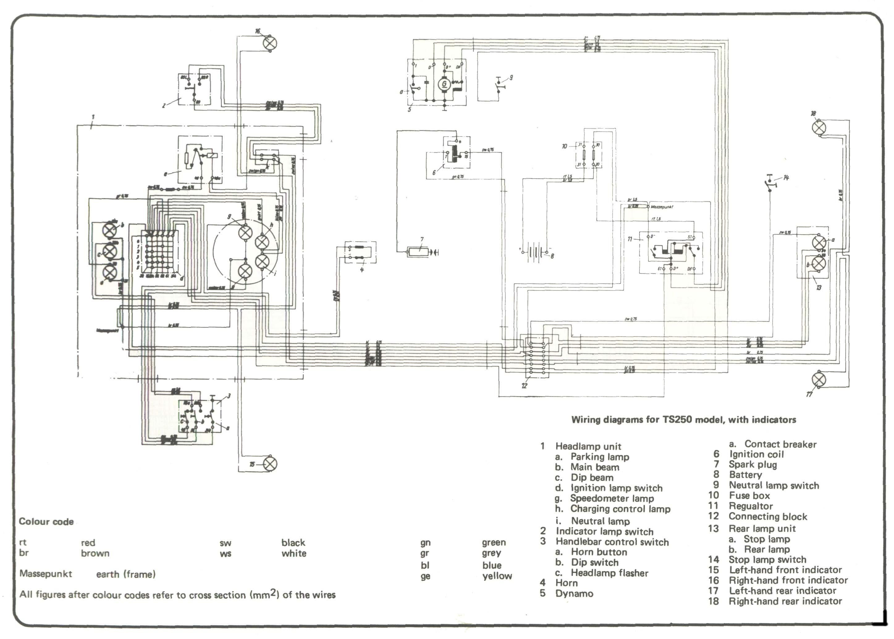 1973 kawasaki 90 wiring diagrams