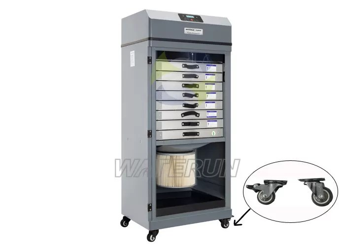700W Industrial Fume Extraction Systems Fume Purification Equipment Low Noise