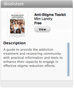 Click here to download anti-stigma toolkit from the Ibook store