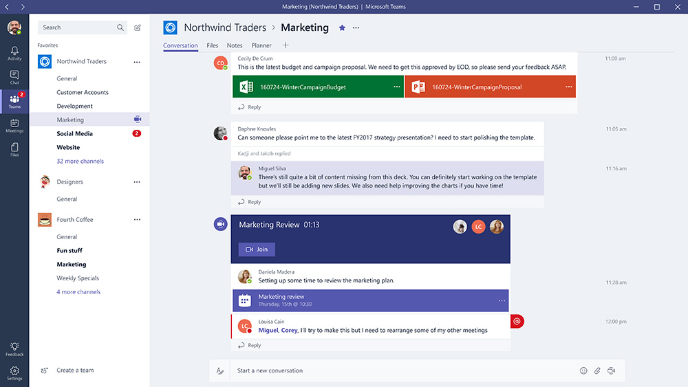 Introduction to Microsoft Teams - Daoudi Samir\u0027s Technical Blog