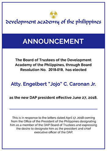 Development Academy of the Philippines - The National Development