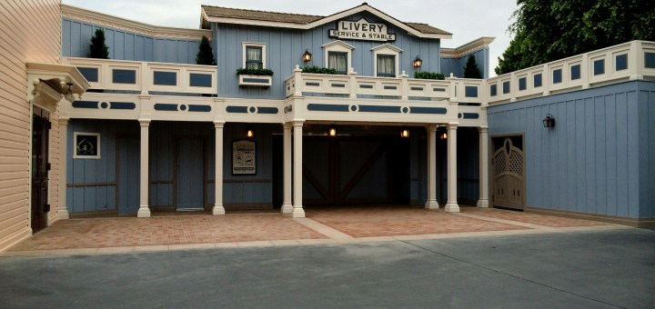 Disneyland Livery Stable on Main Street, USA