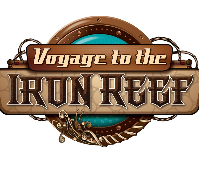 Knott's Iron Reef Takes Guests Into Undersea Battle