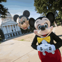 California State Capitol Celebrates Disneyland Day