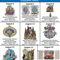 Disney Parks to Release New Pins in the Month of August