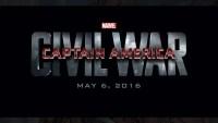 Captain America: Civil War - May 6, 2016