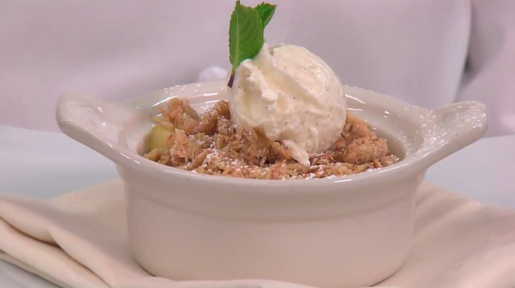 Disney Recipes: Easy Apple Crisp - Disneyland Resort's Napa Rose ...