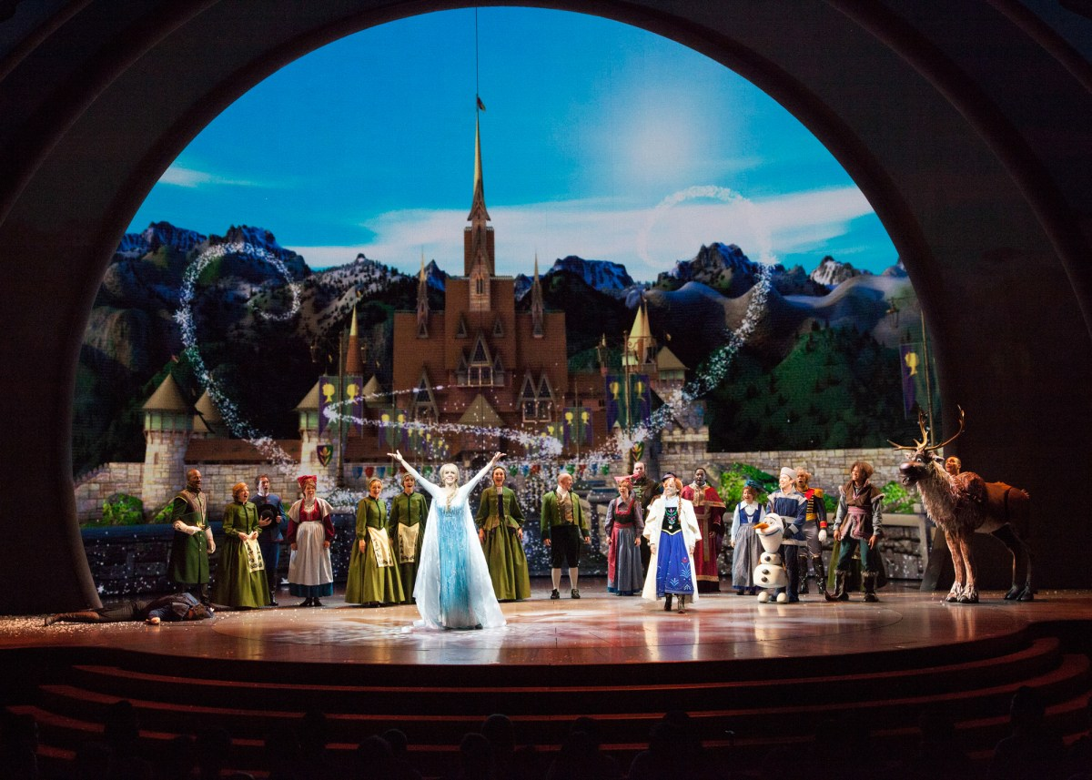New Disney Stage Musical 'Frozen - Live at the Hyperion' World Premiere at Disney California Adventure (PHOTOS)