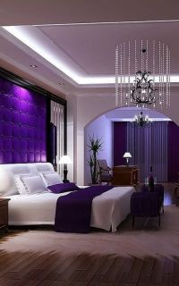 Ravishing Purple Bedroom Design ideas