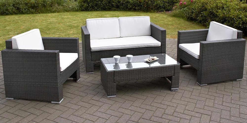 Garden Furniture Uk : rattan garden table and chairs set - pezcame.com