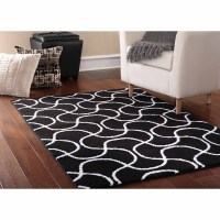 Ultimate classic for your room - Black and White Rugs ...