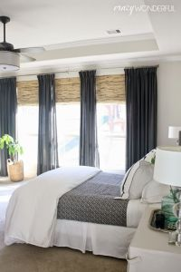 How to design the bedroom window treatments ...
