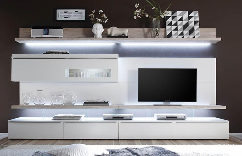 White High Gloss Living Room Furniture Smileydotus