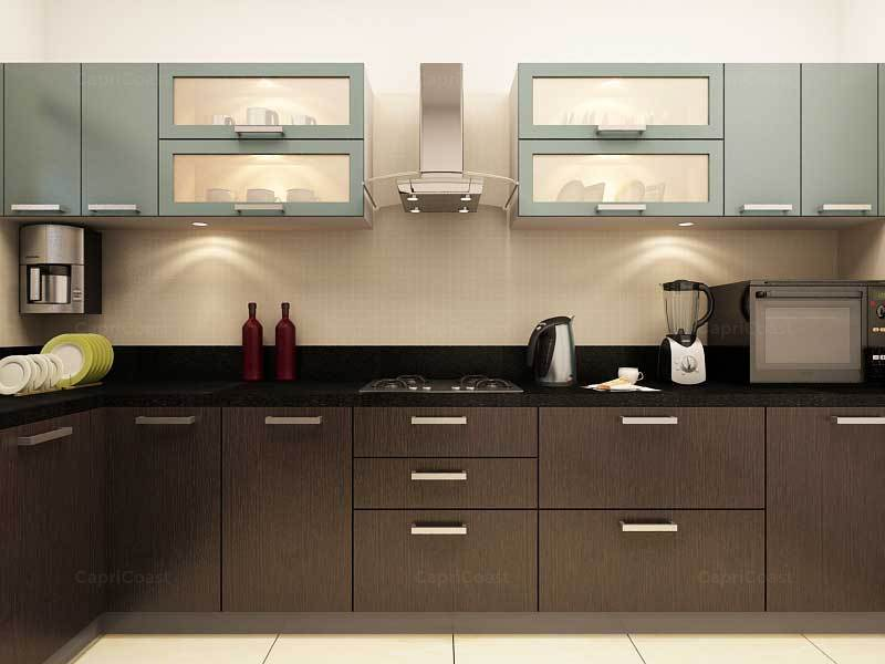 Get An Attractive Cooking Area With Modular Kitchens   Small Modular  Kitchen Designs