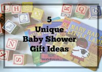5 Unique Baby Shower Gift Ideas