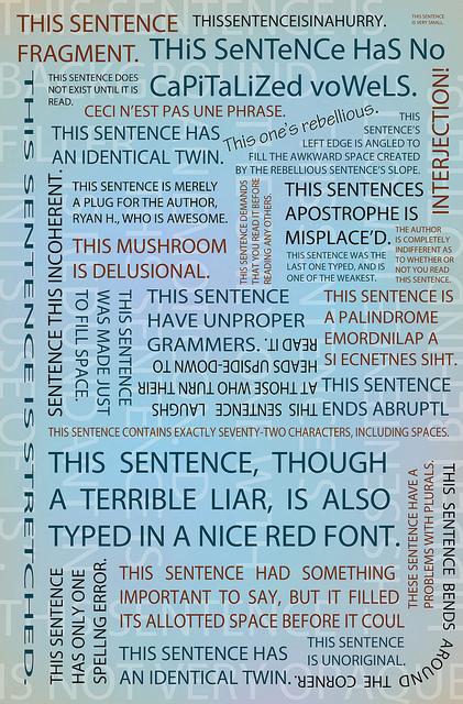 Sentences Control of Voice