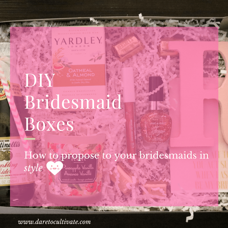 Bridesmaid DIY Box (for only $10!)