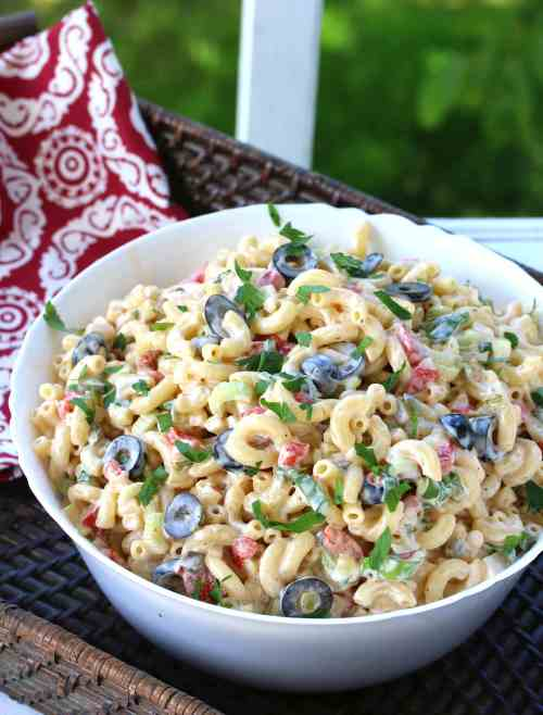 Medium Of Dill Pickle Pasta Salad