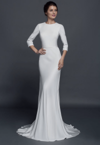Modest long sleeve wedding dresses from Darius Couture