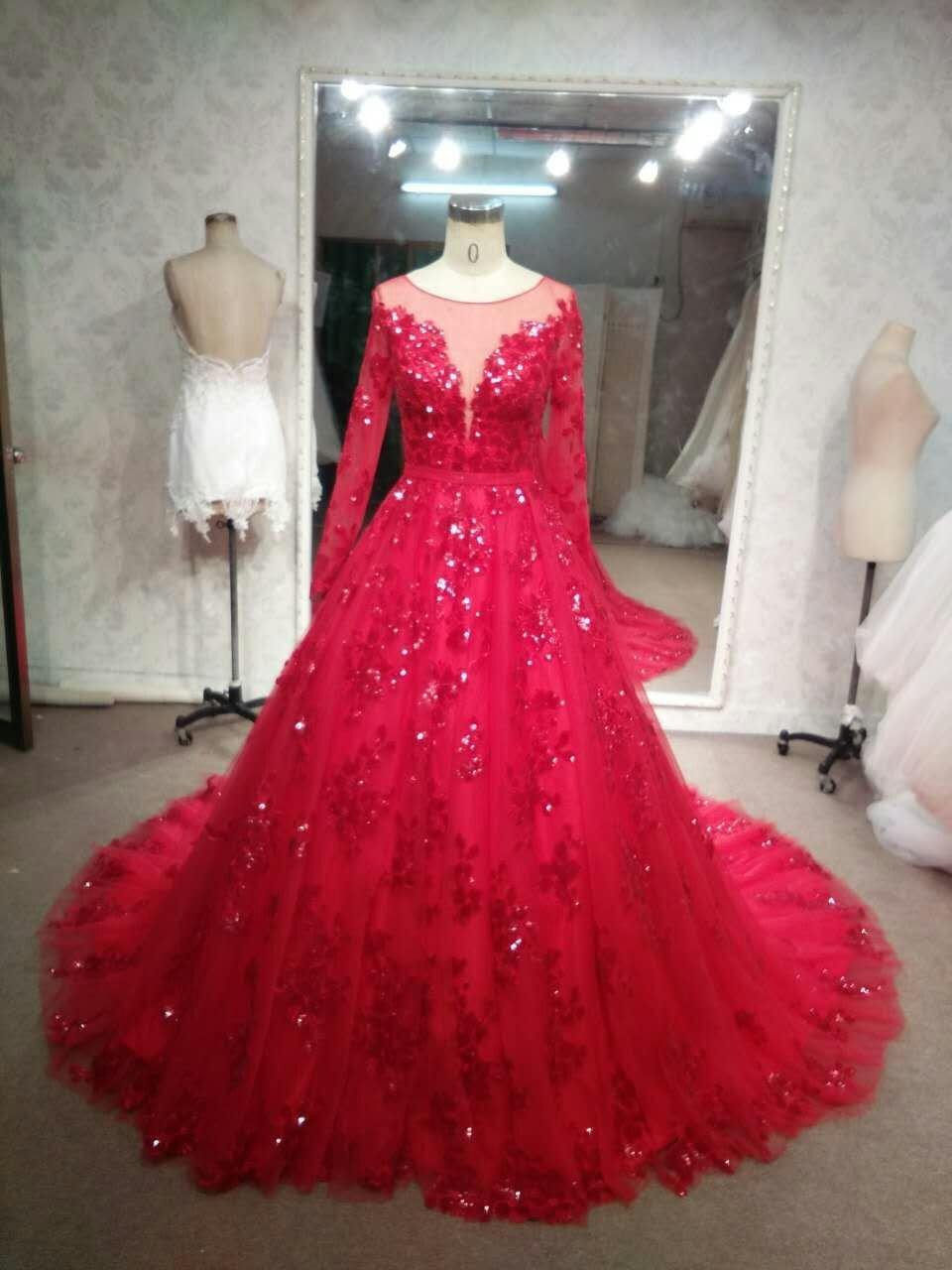Fullsize Of Red Wedding Dresses