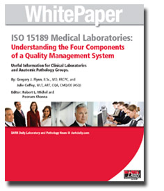 White Paper ISO 15189 Medical Laboratories