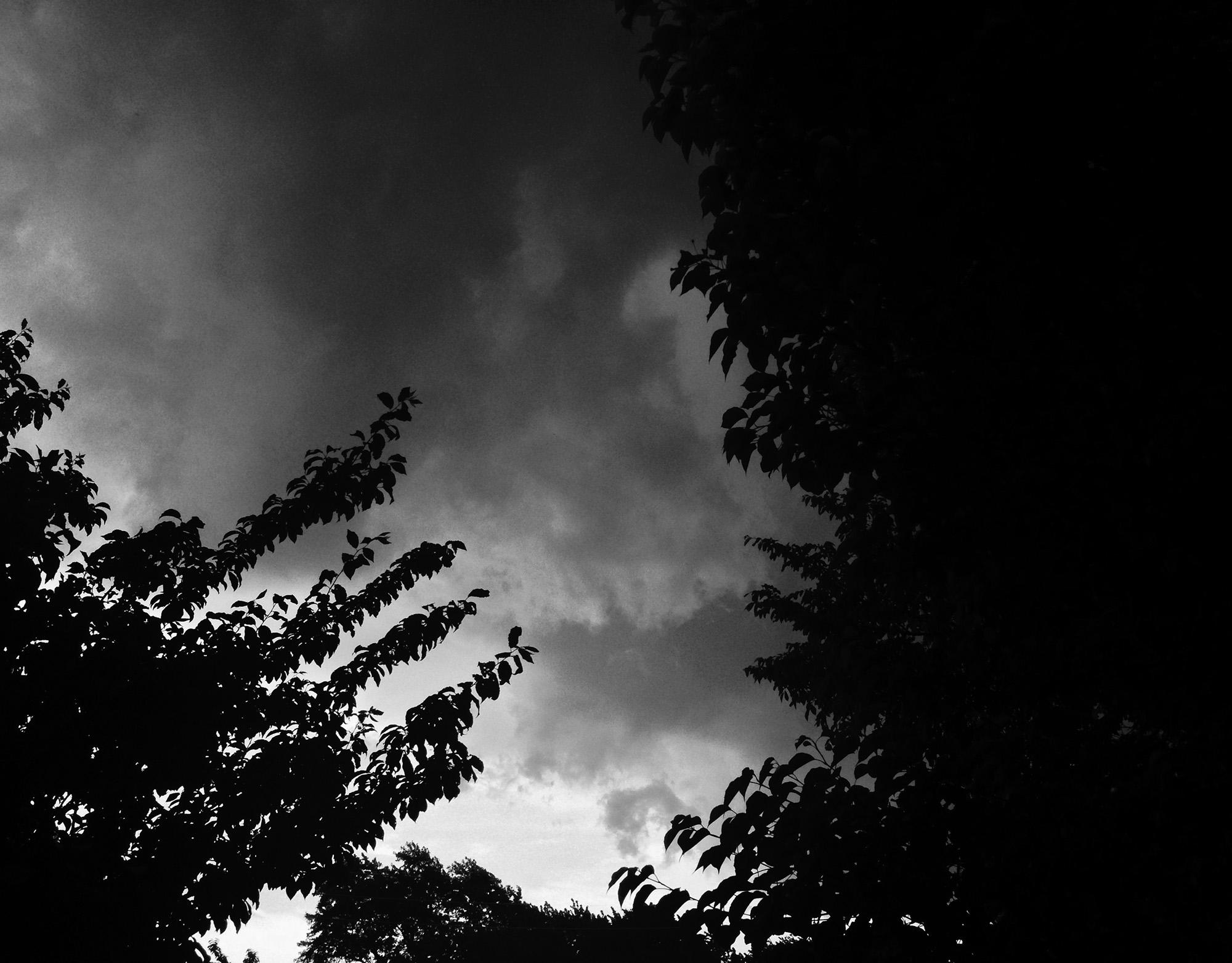 Summer storm in Chicago / Darker than Green