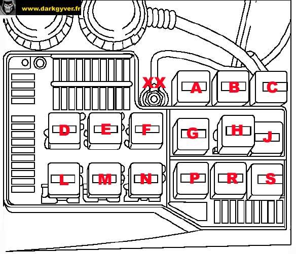 schema cablage bmw e36