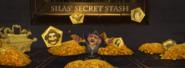Silas' stash of treasure that makes him rich in people.