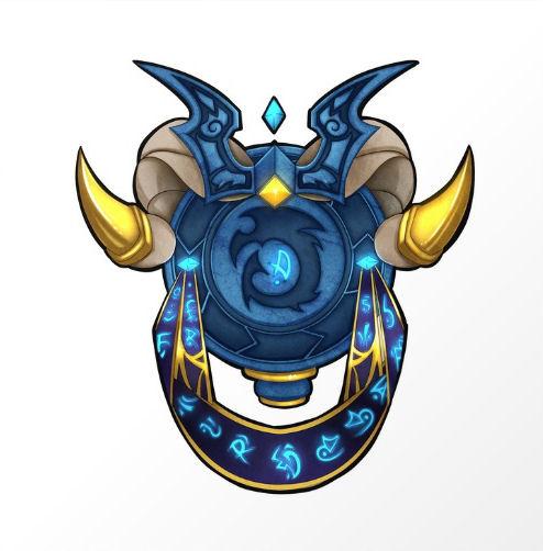 Blue Dragonflight Crest by Falling Stardusk
