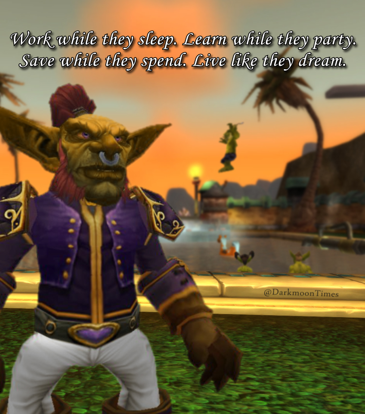 Moonfang's here to give us a perspective on how one can live life with new outgoings