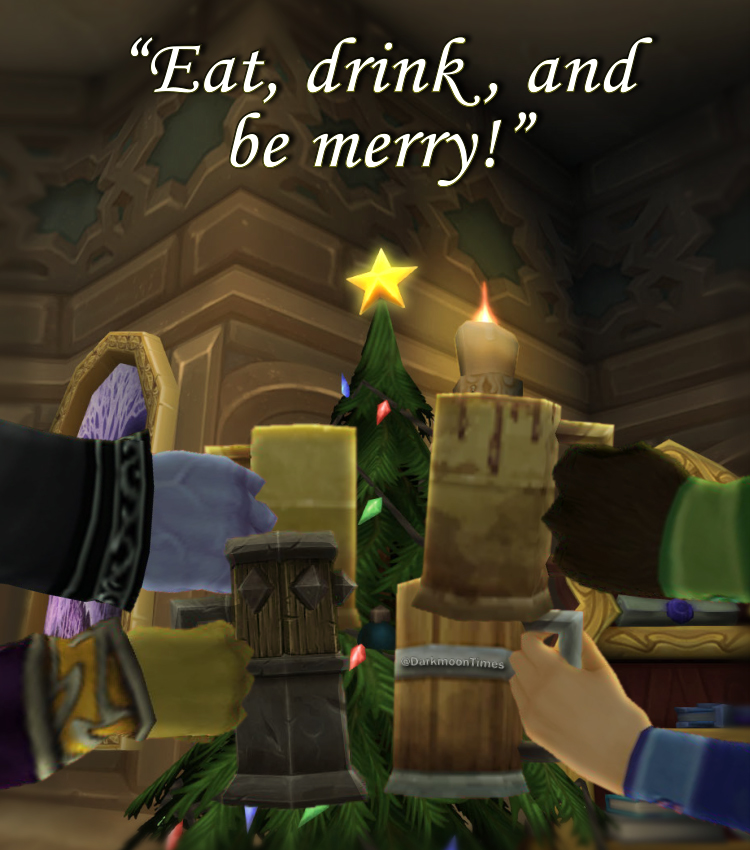 Moonfang's here to promote the best way to celebrate the holidays!