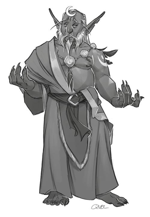 Elder Polaris Raventhorn by Quel'Fabulous