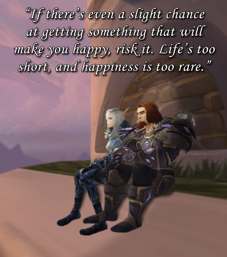 Moonfang's back to motive you to always work for what makes you truly happy in life.