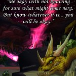 Not Knowing – Motivational Moonfang