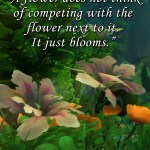 It Just Blooms – Motivational Moonfang