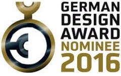 German Design Awards 2016. Nominee
