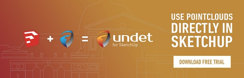 """SketchUp"" papildinys ""Undet"""