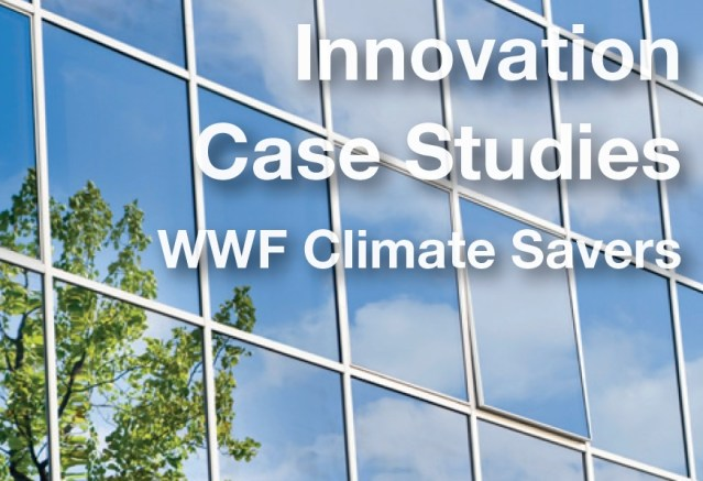 Front page of the WWF Climate Savers Innovations Case Studies publication