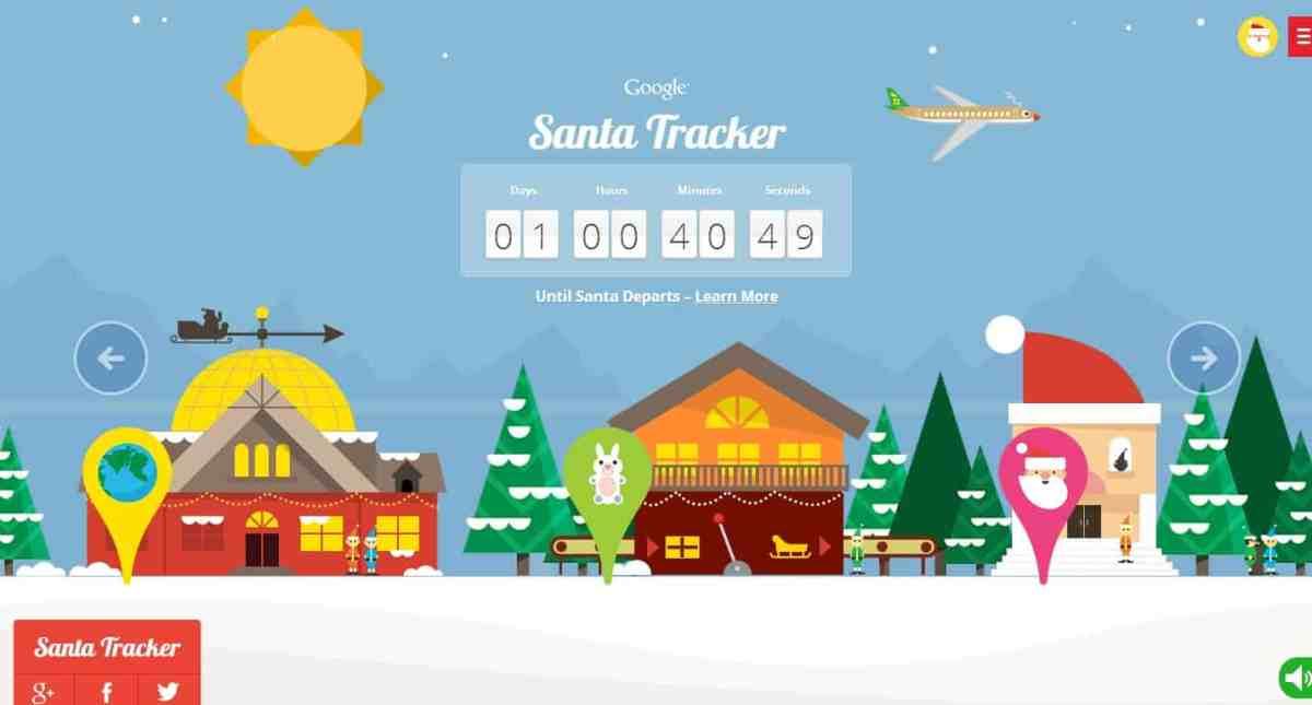 Amazing Santa Tracker Countdown Unleashed