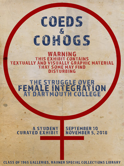 Coeds  Cohogs The Struggle over Female Integration at Dartmouth