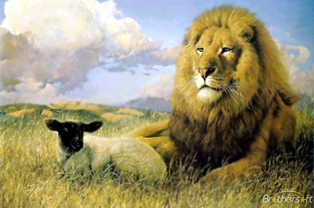 Jesus Name Wallpaper Hd Revelation Lion And The Lamb Richard William Nelson