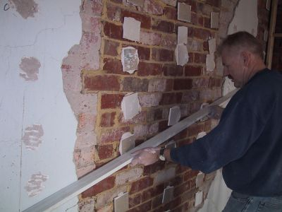 how to put up a plasterboard wall