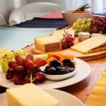 Käseplatte Tisch
