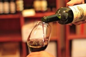 Bordeaux-einschenken