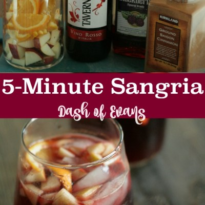 Party Favorite: 5-Minute Sangria