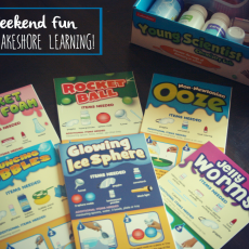 Weekend Fun with Lakeshore Learning!