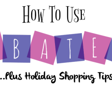 How To Use Ebates For Holiday Shopping